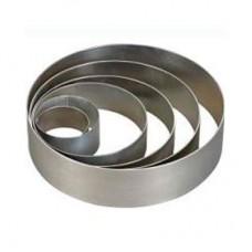Форма металлическая кольцо д 14 см  высота 6 см