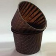 Форма бумажная для выпечки д 50 в 40 коричневая