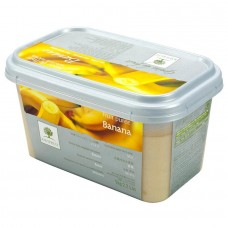 Пюре из банана с/м 10% сахара, 1 кг