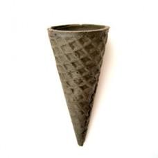 Вафельный рожок ровный край 110 черный