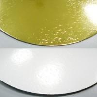 Подложка усиленная золото/жемчуг круг 260 мм, 3,2 мм