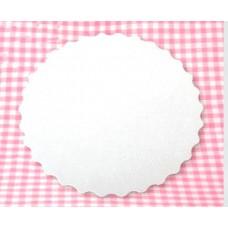 Подложка под торт без печати d260