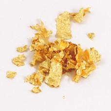 Золото пищевое хлопья, 1 лист