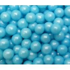 Драже сахарное-перламутр.шарики голубые 8 мм, 100 гр