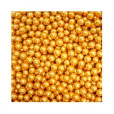 Шарики сахар.золотые 5 мм, 100 гр
