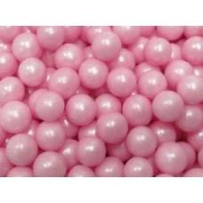 Драже сахарное-перламутр.шарики розовые 8 мм, 100 гр