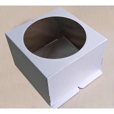 Коробка для торта с окном, до 3 кг