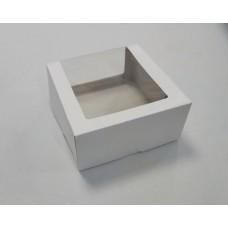 Коробка для торта с окном, до 1,5 кг