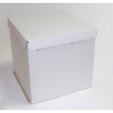 Коробка для торта 30*30*30 белая